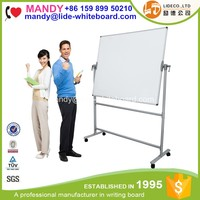 Double Sided Magnetic Mobile White Board