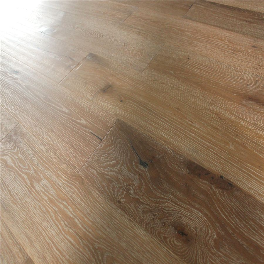 White Wash European <strong>Oak</strong> <strong>Antique</strong> Engineered Wood Flooring SY7066