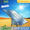 Innovative complete solar panel kit 1500w