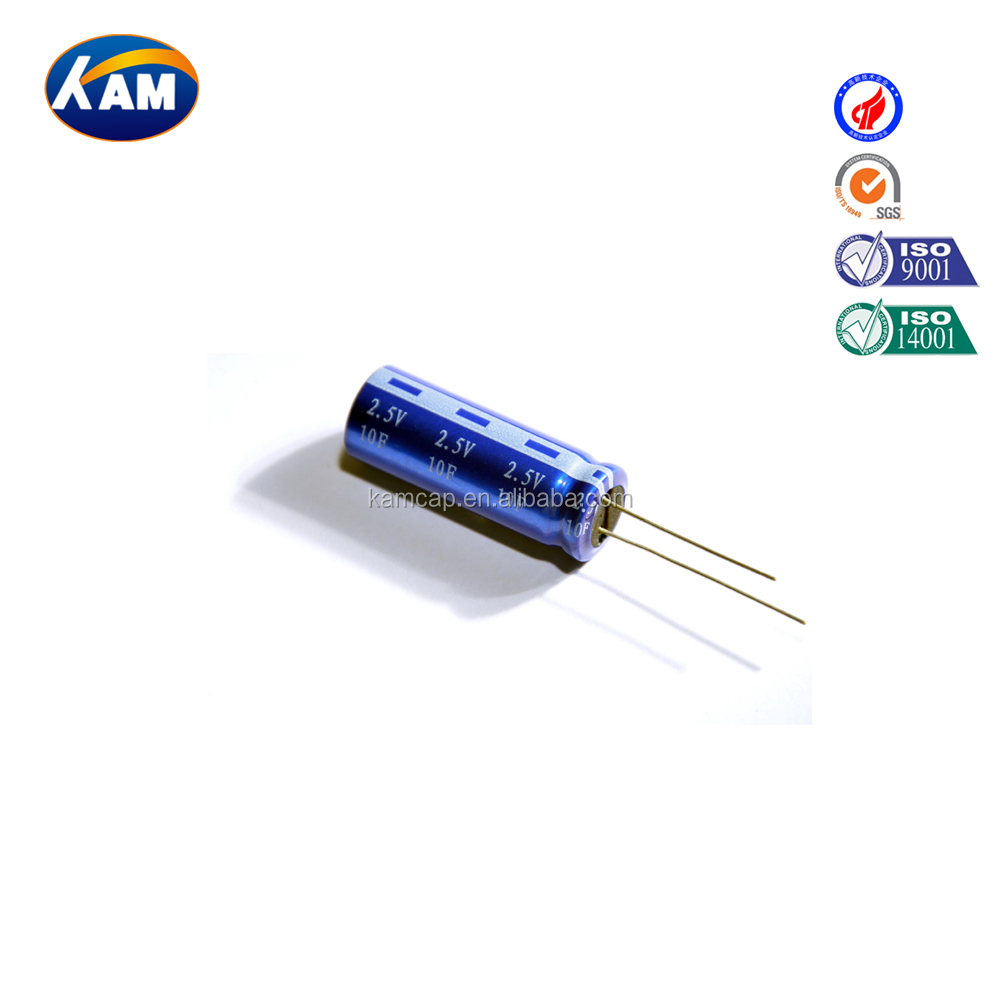 Supercapacitor 2.5V 10F, KAMCAP Super capacitor/Supercapacitor/Ultra capacitor/Farad Capacitor High quality Low price