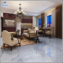 Italian high quality grey fashionable good full polished inkjet tile marble glossy glazed 3d porcelain floor tiles and wall tile