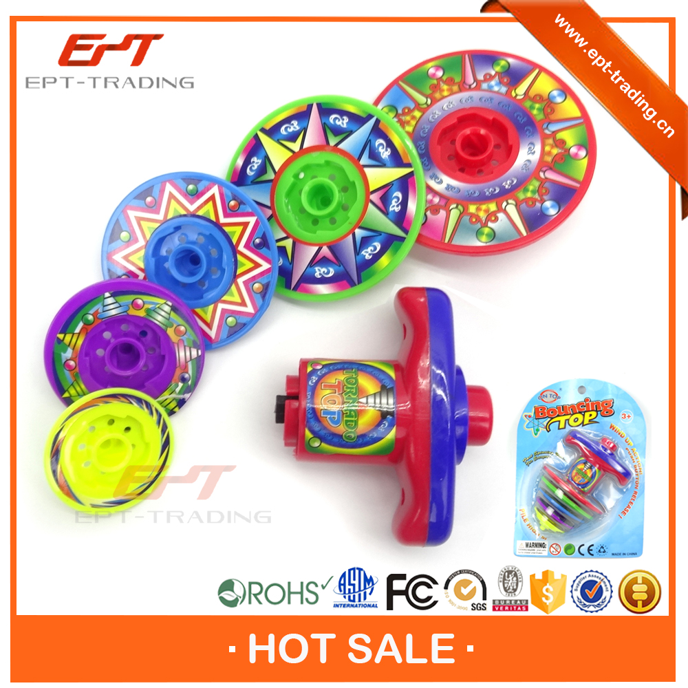 Best selling toy kids plastic toy spinning top toy for sale