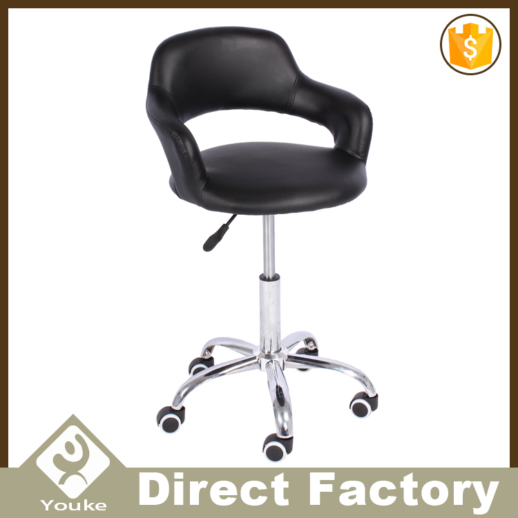 Colored portable salon chairs office swivel chairs