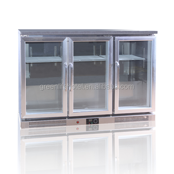 Plastic coated steel sheet bar beer fridge, ,Electronic system,mini bar fridge with compressor