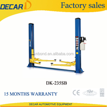 DECAR factory supply two post car lift hydro lift DK-235SB