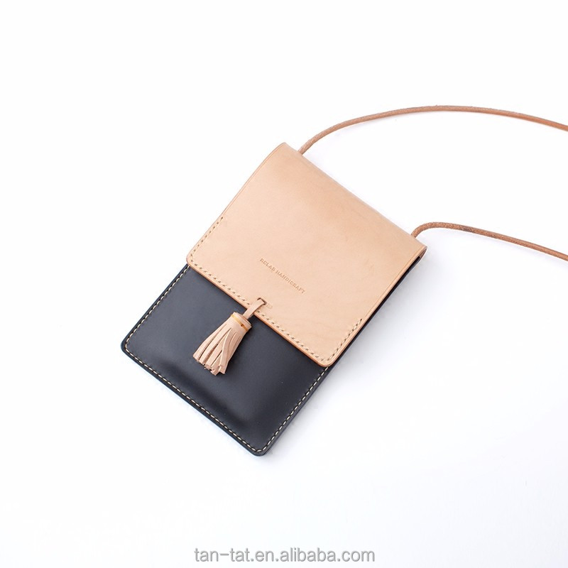 Genuine Leather Small Purse Cross Body Cell Phone Bags
