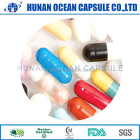 colorful red/black/blue/clean/green pills Herbal Medicine Empty Capsule Shell buy China
