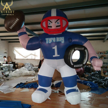 Outdoor decorative athletes design events inflatable player mascot