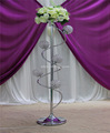 color changed roman wedding led floor stand pillar