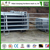 long performance life steel tube corral horse fence panels for sale(China direct factory)
