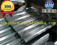 black/galvanized corrugated metal steel sheets for roofing/wall