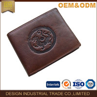2016 wallet factory hot sell brand new design cow genuine leather wallet