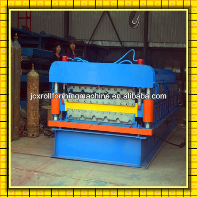 JCX Asia type!!corrugated sheet glazed tile roll forming machine