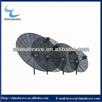 C band dish tv antenna mesh dish antenna