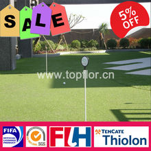 Synthetic Artificial Turf Golf Grass With Nylon Material