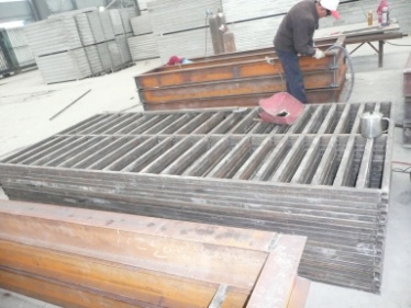 Welding (Light Weight Wall Panel Mould)