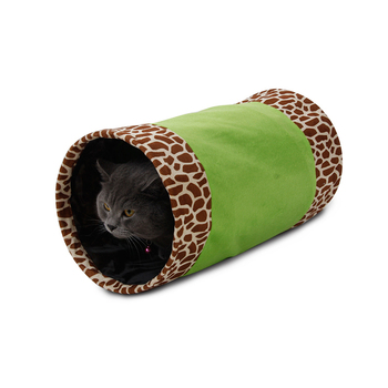Tianyuan pet funny foldable textile indoor cat tunnel toy