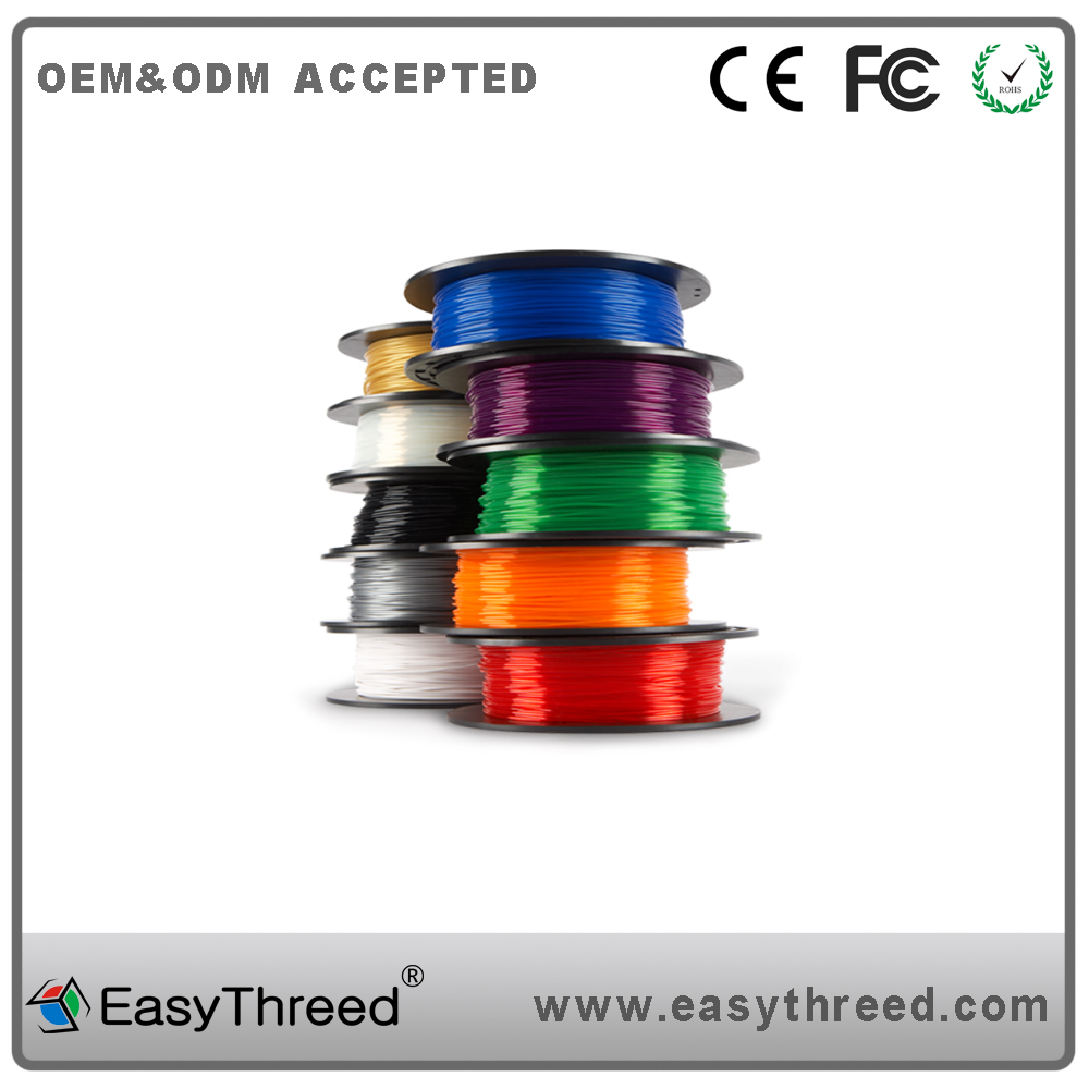 multi color 1kg per roll 3d printing Flexible tpu material