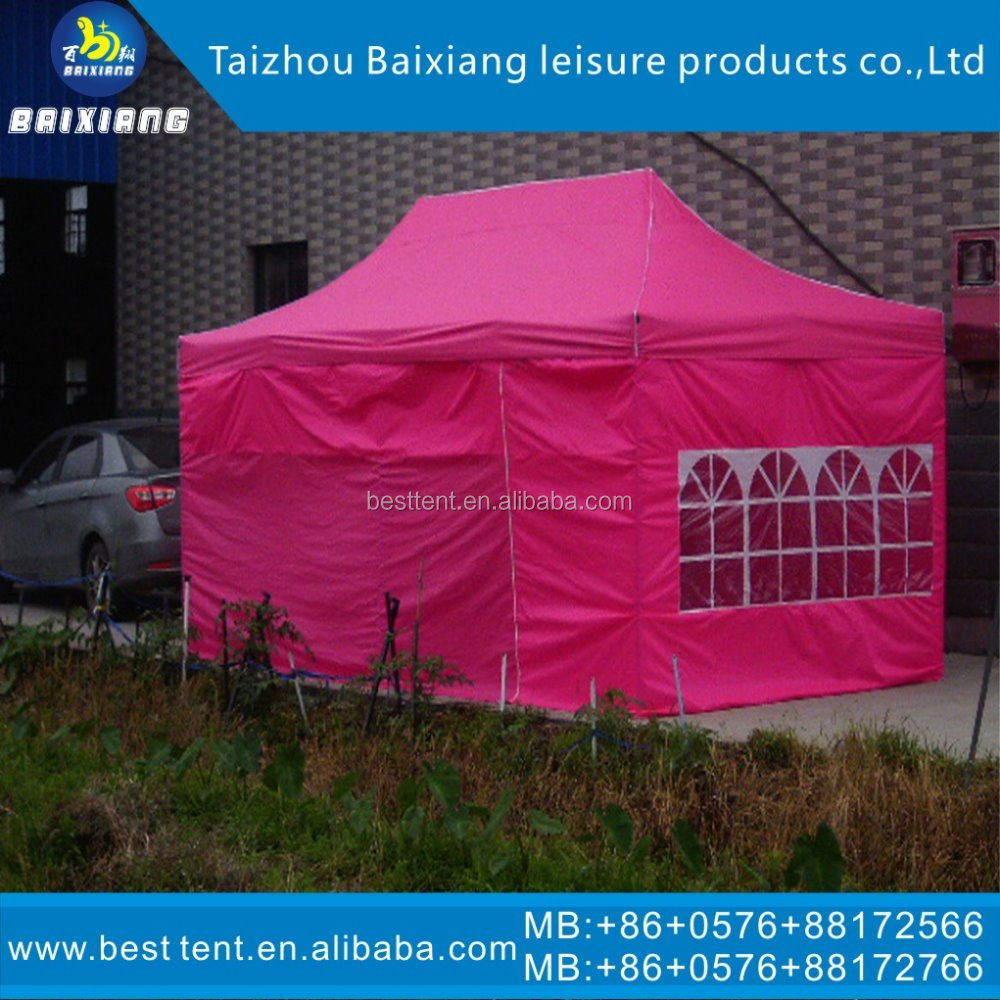 fully stocked factory supply 10*10 steel car tent