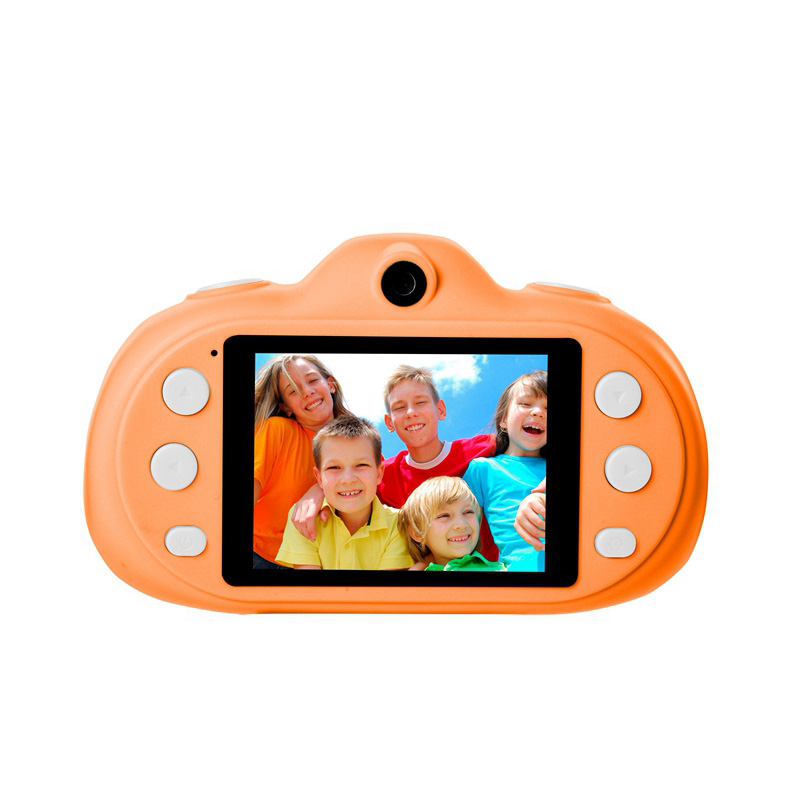 Mignon Mini Enfants Cameral Numérique Enfants Cadeau Dessin Animé Jouet Caméra D'action 8MP Photo Audio Mp3 Jeu Disponible - ANKUX Tech Co., Ltd