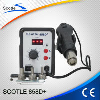 Hot sale Scotle 858D+ the best electric solder iron for soldering irons