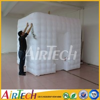 High quality used photo booth for sale with LED wedding inflatable kiosk