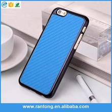 mobile phone accessories factory in China carbon fiber case cover for iphone 6 unlocked