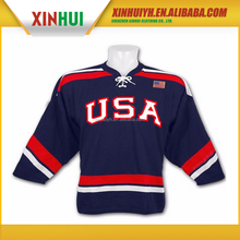 sublimation team usa hockey jersey 4xl hockey jersey