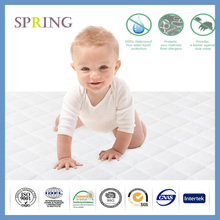 Quilted Crib Mattress Pad Protects your Crib or Toddler mattress Size:28x52