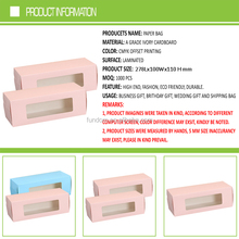 full area printing wholesale 6 pcs packing swiss roll cake box with window