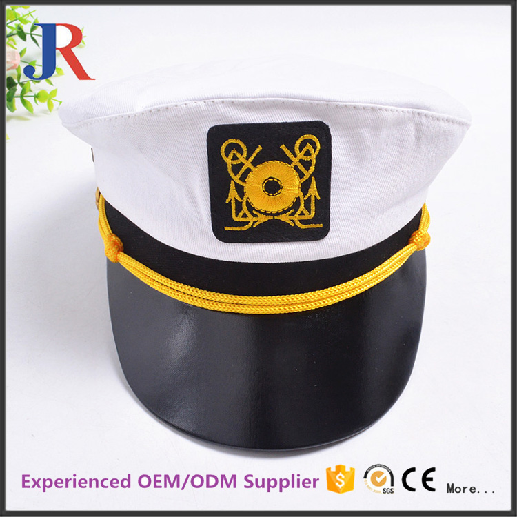 Christy China hot sale Fashion custom color design your own logo sailor military hat