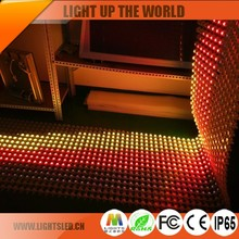 Concert Stage Full Color Moving Led Curtain P25Mm Programmable Flexible LED Curtain Display