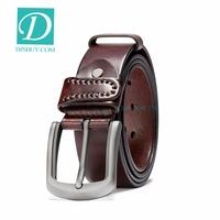 Fancy Belts For Boys Genuine Leather Belt New Fashion Belts For Men High Quality Designer Cow Skin Strap Male