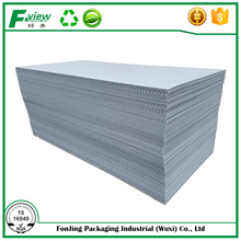 light weight Multifunctional pp coroplast plastic board/sheet gray color 5mm