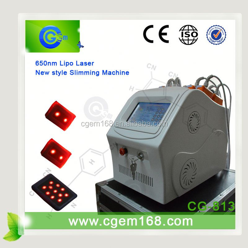 CG-813 12pads 650nm lipo laser leisure 18 slimming for salon use