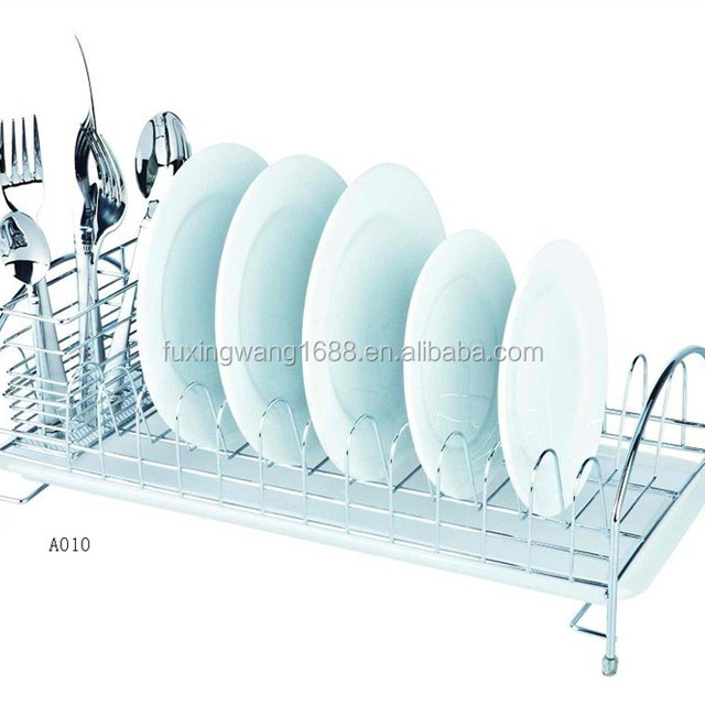 Jiang Men Hot Sale Chrome Plated Wire Dish Rack