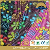 pvc textile material pvc embossed leather pvc leather for bag made in China
