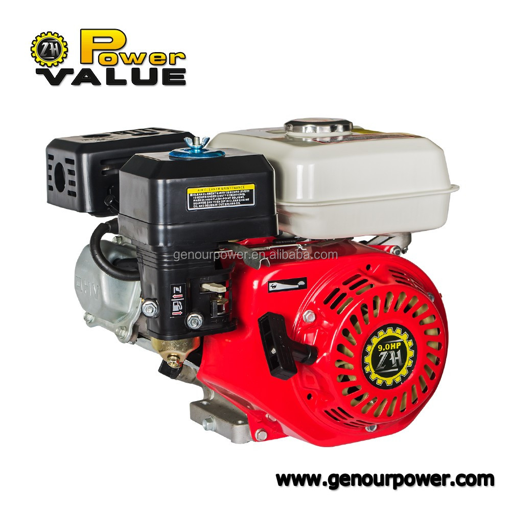 Power Value petrol engines, Ohv engine air cooled gasoline engine 9 hp