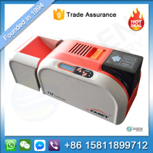 China cheap pvc magnetic credit driver license business card printing machine smart pvc plastic id card printer price