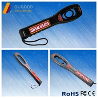 Manufacture Hand Held Metal Detector , Electronic Super Wand Metal Detector For Security