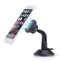 100% QC approved deck chair mobile phone holder for car , Magnetic dashboard windshield car holder