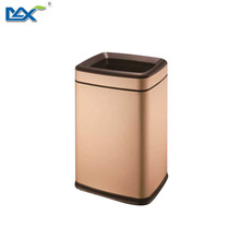 bathroom fancy household cleaning melamine trash can waste bin