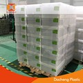 colorful pp plastic corrugated crate