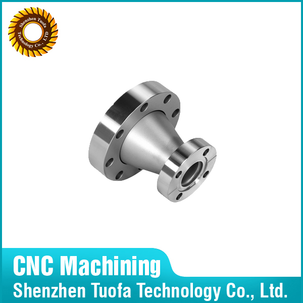Custom cnc machining stainless steel reducer motorcycle/auto car parts