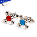 Men Shirt Tap Switch Cufflinks Amazon Sublimation Cufflinks