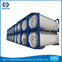 20ft ISO ASME Certificate Oil Tank for Sale