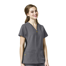 Polyester Cotton Female Medical Nurse Uniform Design