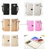 New stylish for iphone 6 bling wallet case,for iphone 6 flip leather wallet case