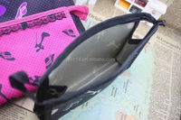 2015 cheap fashion custom polyester+eva bra bag