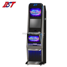 "Upright Slot machine 19"" Dual LCD screen arcade game cabinet"